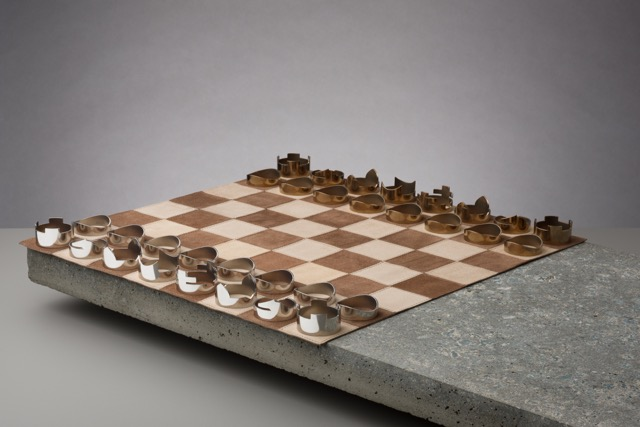 travel chess set designed by rawstudio made in England